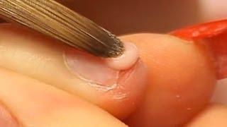 كيفية تطبيق الاكريليك الأظافر قصيرة عض الأظافر الفيديو التعليمي من قبل Naio الأظافر