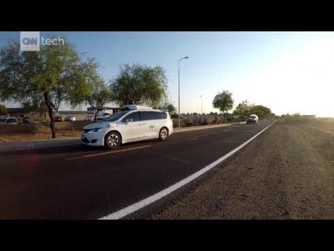 Watch Waymo's self-driving cars practice around emergency vehicles