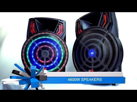 QFX 4600W Small Speaker - 12-13 Hour Battery Life!