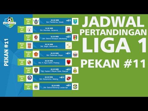 Jadwal Pertandingan Liga 1 Pekan Ke-11 Gojek Traveloka 2017