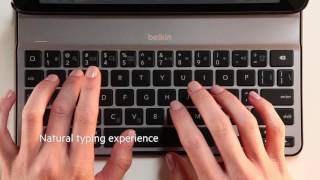 qode ultimate lite keyboard case for ipad air 2 belkin