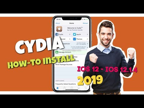 Cydia Download Without Jailbreak - PC -  IOS 12.1.4 - IPhone XS