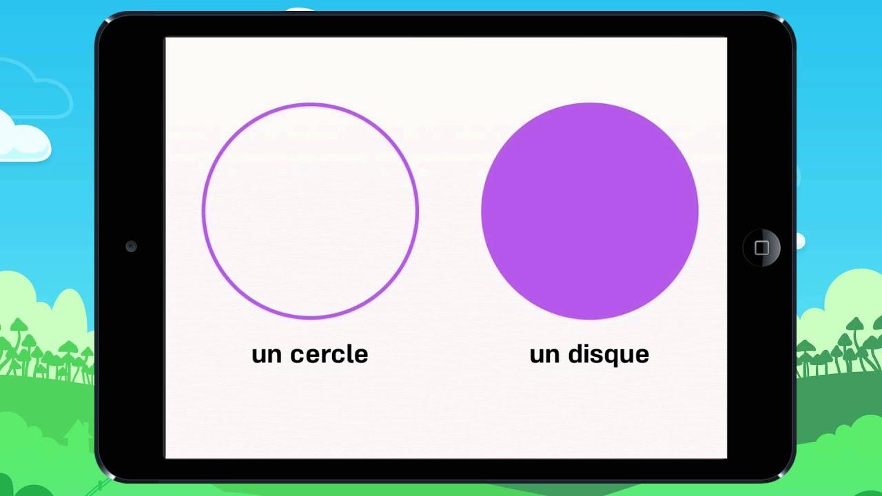 Vid o 5 le on apprends faire la diff rence entre un cercle et un disque youtube - Difference entre encastrable et integrable ...