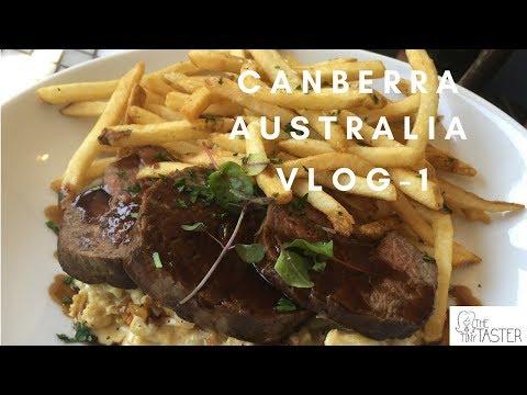 The Tiny Taster | Canberra Vlog Part 1 | Australia 🇦🇺