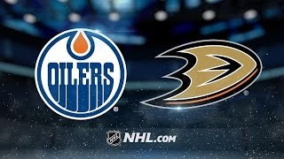 Talbot, Draisaitl shut down Ducks, 4-0