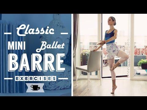 Classic mini Ballet Barre Workout | Lazy Dancer Tips