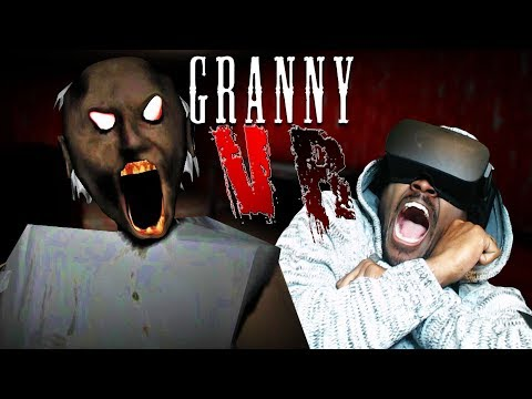 I THINK GRANNY IS POSSESSED   Granny Nightmare Mode VR PC Gameplay (PART 2)