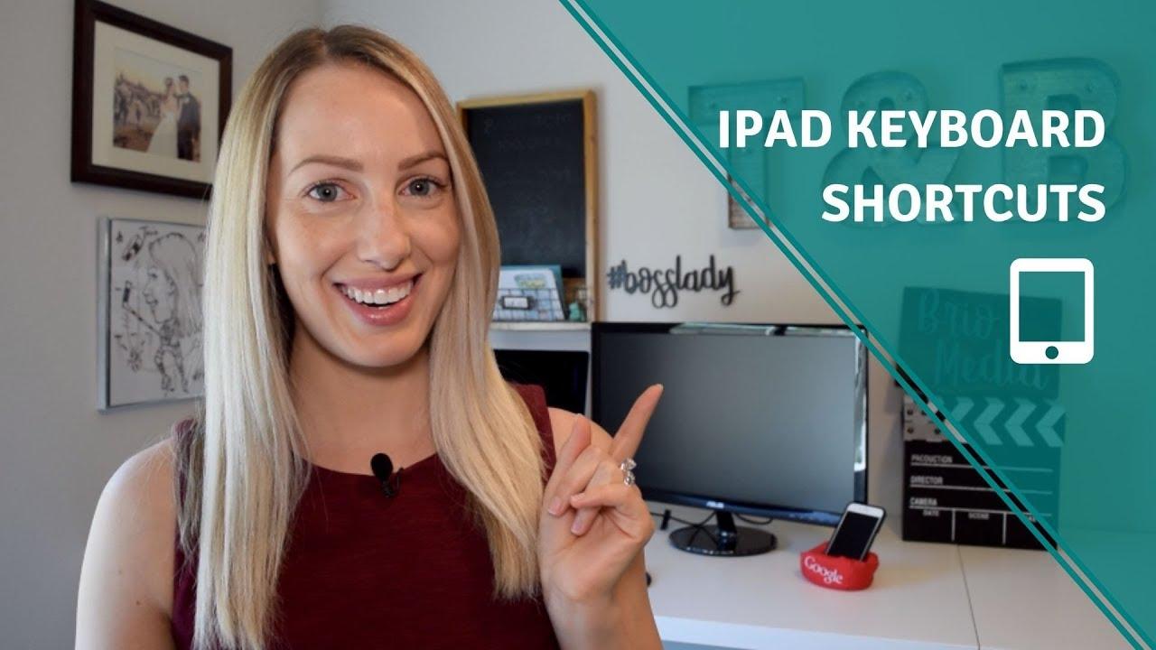 The Best iPad Keyboard Shortcuts