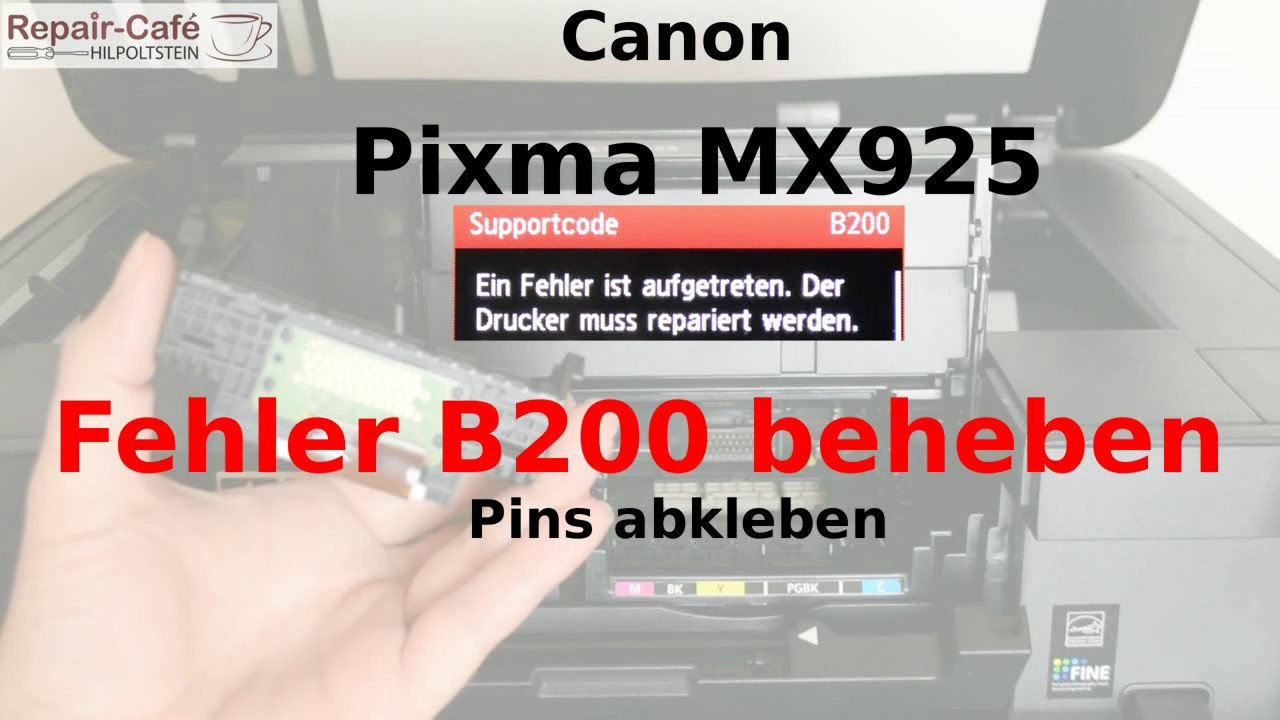 Canon Fehler B200
