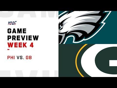 Philadelphia Eagles vs. Green Bay Packers Week 4 NFL Game Preview