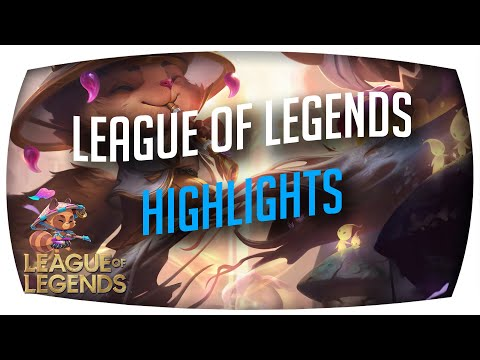 Some League Of Legends Highlights with Prestige Spirit Blossom Teemo Skin :) [#2] DonatFX