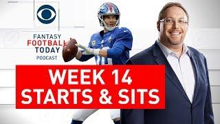 Week 14 FANTASY FOOTBALL STARTS and SITS | Full Episode | Fantasy Football Today