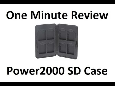 Power2000 Secure Digital Case - One Minute Review