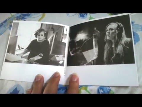 Unboxing Cd Adele - 21