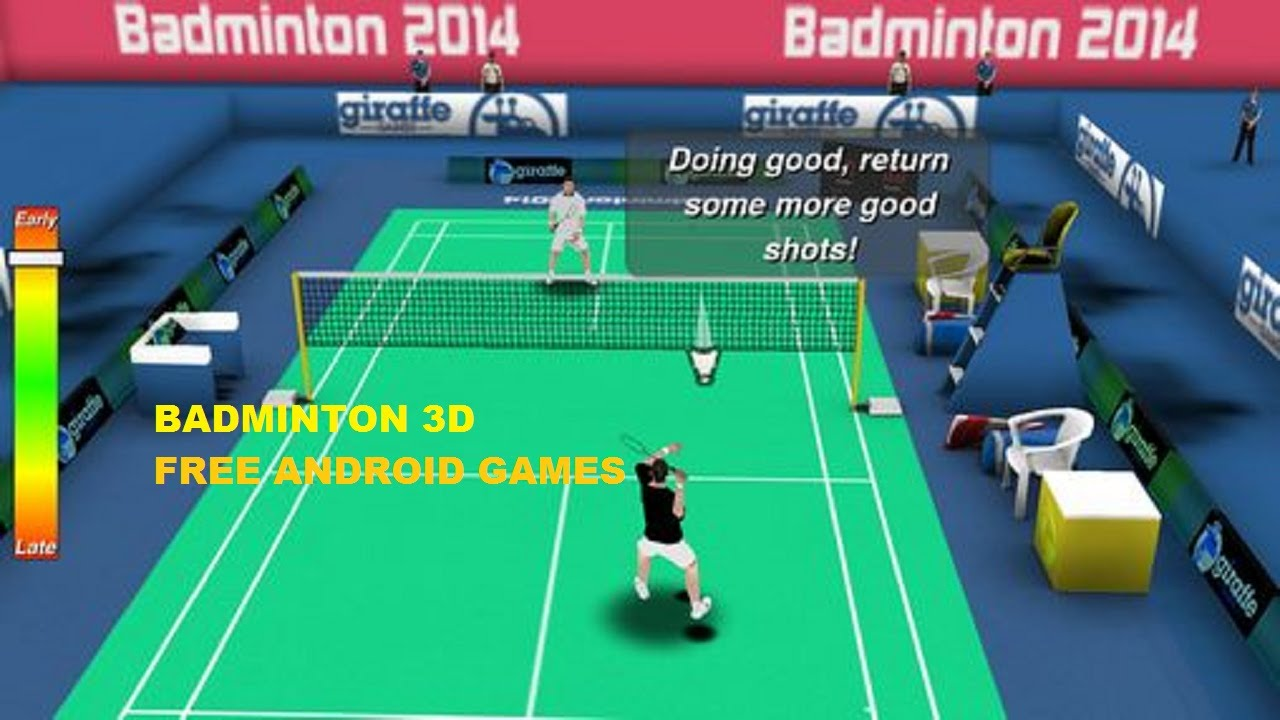 download game 3d badminton for android