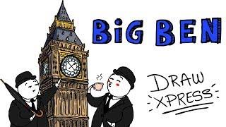 BIG BEN 🕒 | DrawXpress