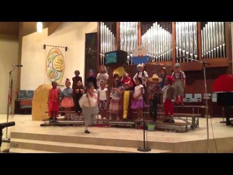 Prime time nursery rhyme at Wesleyan academe by Ryan class
