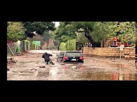 montecito mud slide