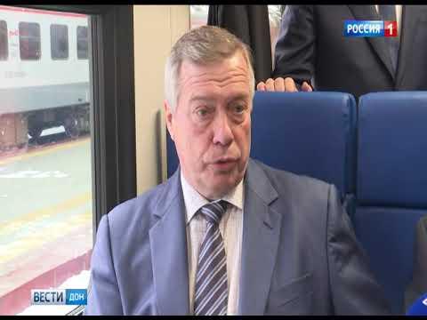 Ресльсобус сообщением Волгодонск-Ростов сегодня отправился в первый рейс