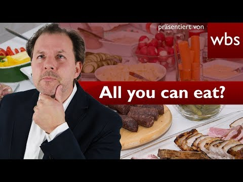 All you can eat – Darf ich wirklich alles essen? | Rechtsanwalt Christian Solmecke