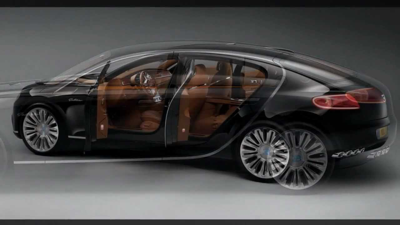 bugatti 16c galibier concept in black slideshow youtube. Black Bedroom Furniture Sets. Home Design Ideas