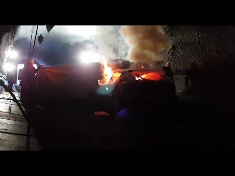 Hvordan slukke bilbrann i tunnel |  Bridgehill Car Fire Blanket