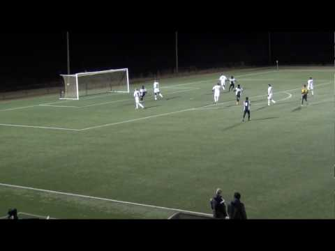 Appalachian State University vs UNC Asheville - March 3rd 2017 - Andrew Goodman Goal