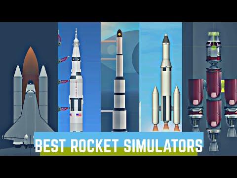 Top 5 Rocket Simulators For Mobile | Best Rocket Games