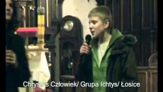 """Szymon Wydra """"Poza czas""""- teatr dla młodzieży: """"Chrystus Człowiek"""" Łosice"""