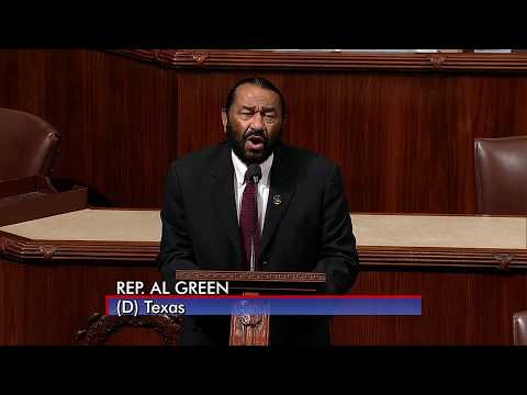 Rep. Al Green -- Speech on Alabama, Hate, and Impeachment Vote