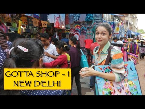 Gotta Shop || Part 1 || Sarojini Nagar & Janpath || New Delhi
