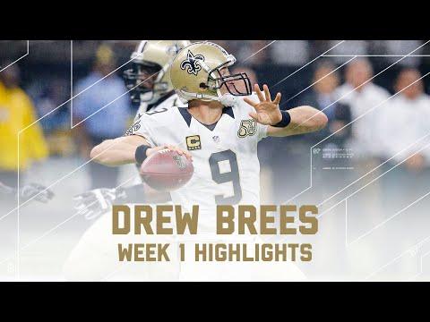Drew Brees Highlights | Raiders vs. Saints | NFL Week 1 Player Highlights