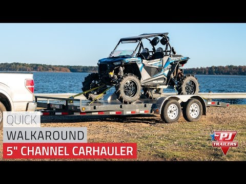 "5"" Channel Carhauler (C5) Quick Walkaround"
