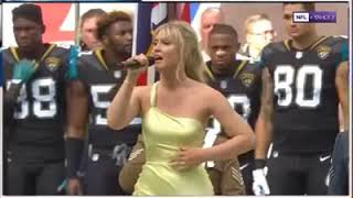 NFL players stand for God save the Queen at Wembley stadium Sep 2017