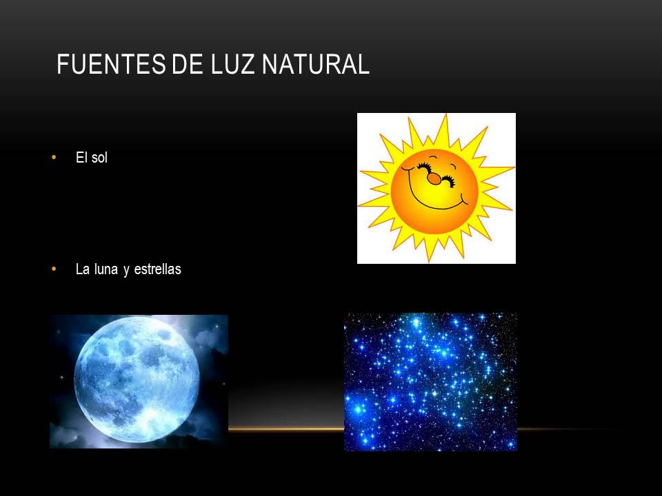 Fuentes Luminosas Naturales Y Artificiales