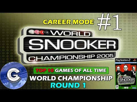 Let's Play World Snooker Championship 2005 (PS2) | Career Mode E01: WE NEED A NEW SNOOKER GAME!