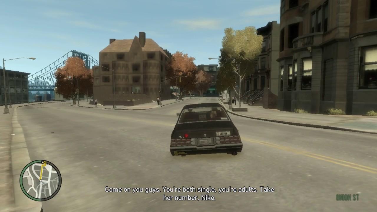 Grand Theft Auto IV Mission #3 Three's A Croud