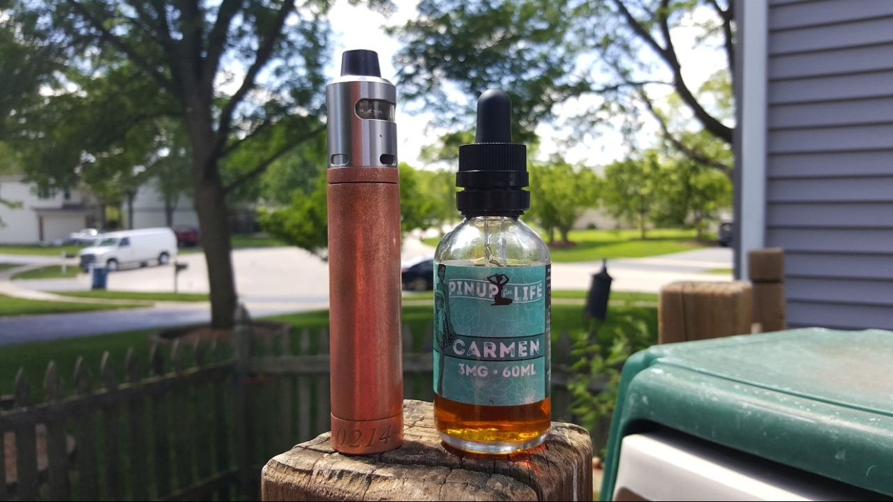 Pin Up Vapors Wholesale - Pinup for life carmen by pinup vapors e liquid review did i make a mistake buying this
