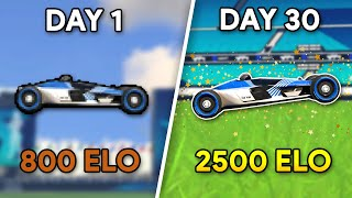 Trackmania Beginner to Pro in 30 DAYS?