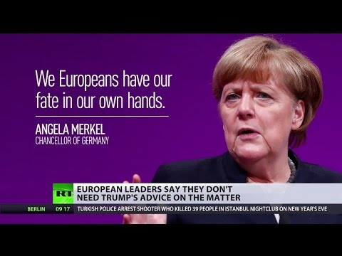 'Declaration of war': EU leaders 'astonished' by Trump remarks