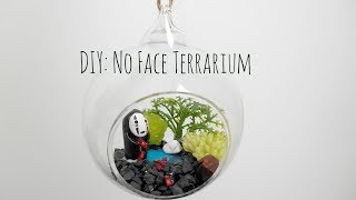 DIY: Spirited Away No Face miniature terrarium