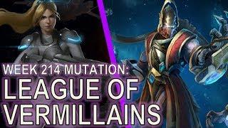 Starcraft II: League of Vermillains [Mass Liberators]