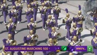 St. Augustine Marching 100; Saints player Michael Thomas in Zulu 2019