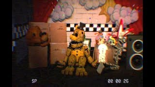 [FNAF] How Golden Freddy transform in to its FNAF 1 appearance - Five Nights at Freddy s 1