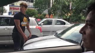 Road rage in Kolkata India   Fight