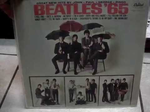 BEATLES 65 Vinyl Lp Record Playing Turntable Luxman