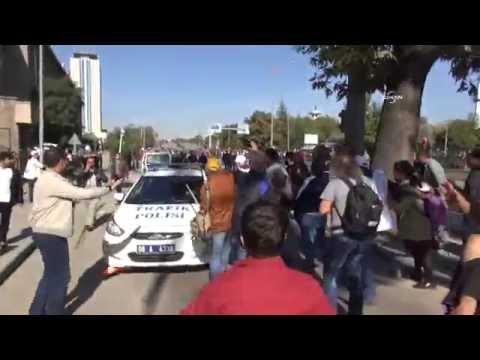 Ankara'da patlama: İlk görüntüler