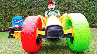 Ali Ride on Toy Car and color wheels