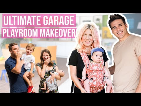 Ultimate Garage Playroom Makeover! Our First Project As New Parents!