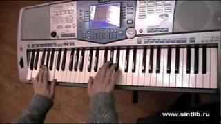 Золушка музыка игра на синтезаторе